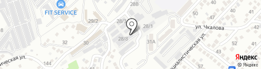 Мак на карте Новороссийска