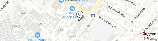 Ателье швейное на карте Новороссийска