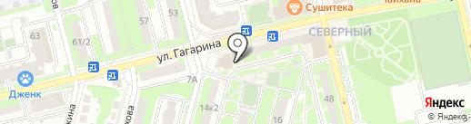 Платежный терминал, Сбербанк России на карте Домодедово