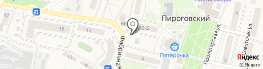 Элика на карте Пирогово