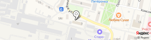 Магазин фастфудной продукции на карте Пирогово