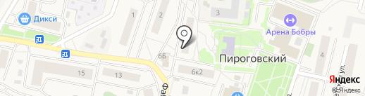 Сбербанк, ПАО на карте Пирогово