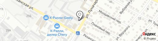 Цезарь на карте Новороссийска