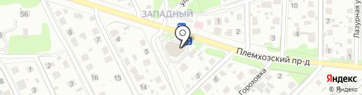 Знайка на карте Домодедово