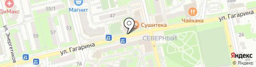 Недвижимость Подмосковье на карте Домодедово