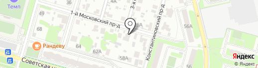 Компания Полиаспект на карте Домодедово