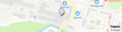 Мек стекло на карте Пирогово