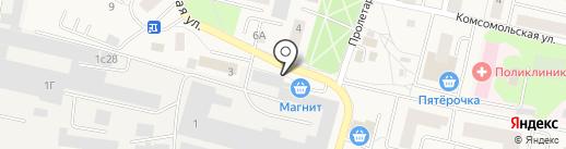 Пекарня на карте Пирогово