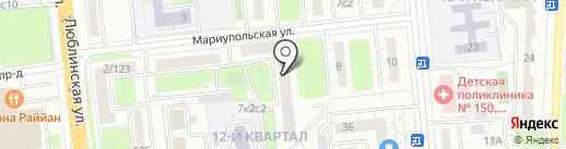 Хозторгснаб на карте Москвы