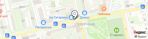 Магазин ивановского текстиля на карте Домодедово