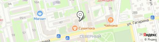 Жемчужина дент на карте Домодедово