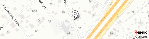 TopService на карте Мытищ
