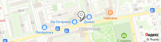 Башня на карте Домодедово