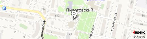 Ремонтная мастерская на карте Пирогово