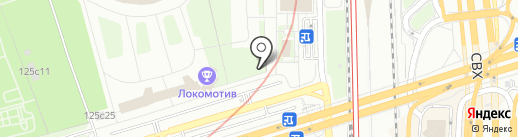 Ист-фарм на карте Москвы