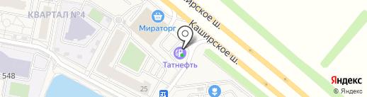 АЗС Татнефть на карте Совхоза имени Ленина