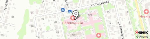Домодедовская центральная районная больница на карте Домодедово