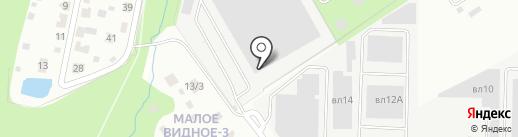 Аэросиб на карте Видного