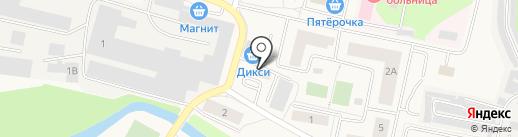 Пятачок на карте Пирогово