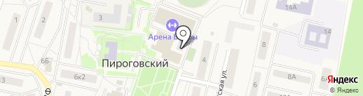Мои документы на карте Пирогово
