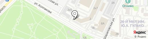 Олинклюзив на карте Мытищ