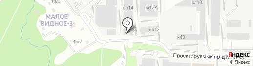 Ал-про на карте Видного