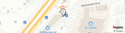 Эльбор на карте Мытищ