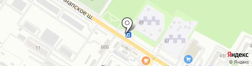 Ravenol на карте Новороссийска