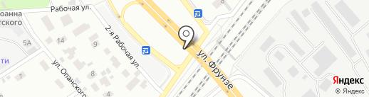 Санит на карте Мытищ