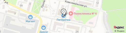 Магазин электрики на карте Пирогово
