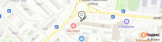 Салон оптики на карте Мытищ