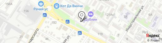 Детская библиотека №4 на карте Новороссийска