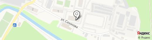 Территориальное управление Пироговский на карте Пирогово