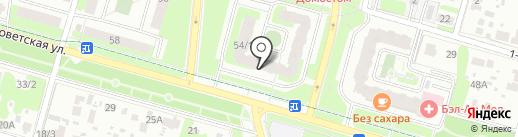 Группа Ренессанс Страхование на карте Домодедово