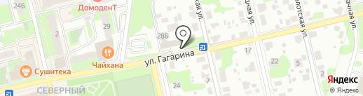 Магазин автозапчастей на карте Домодедово