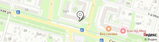 ВОРОТА-ОКНА на карте Домодедово