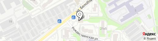Магазин оптики на карте Мытищ