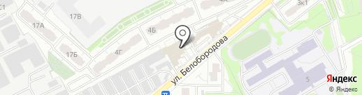 Наш клуб на карте Мытищ
