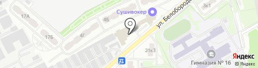 Светлана на карте Мытищ