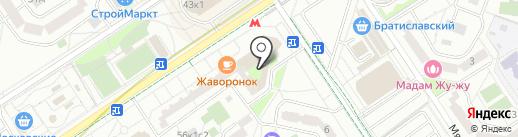 Мебельная Слобода на карте Москвы