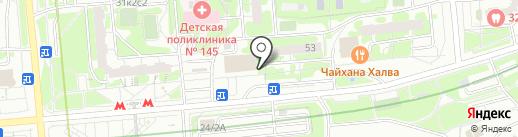 Доброном на карте Москвы