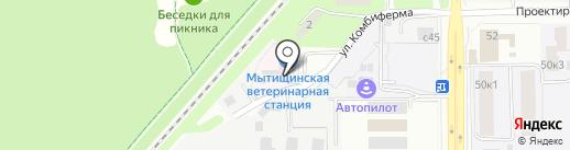 АвтоТюнинг на карте Мытищ