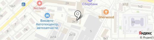 ПромСтрой на карте Мытищ