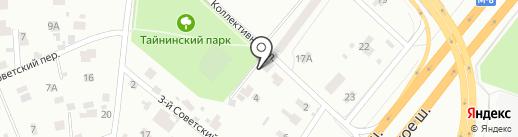 Добрая баня на карте Мытищ