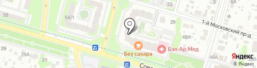 Шайн на карте Домодедово