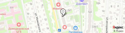 Фон мастер на карте Домодедово