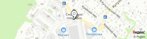 Новороссийский опытно-экспериментальный завод на карте Новороссийска