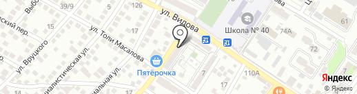 Хай-Тек на карте Новороссийска