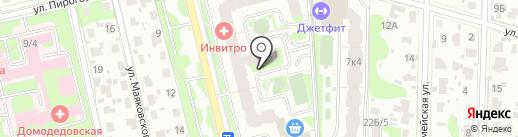 Триколор ТВ на карте Домодедово