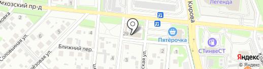 Магазин товаров для ремонта на карте Домодедово